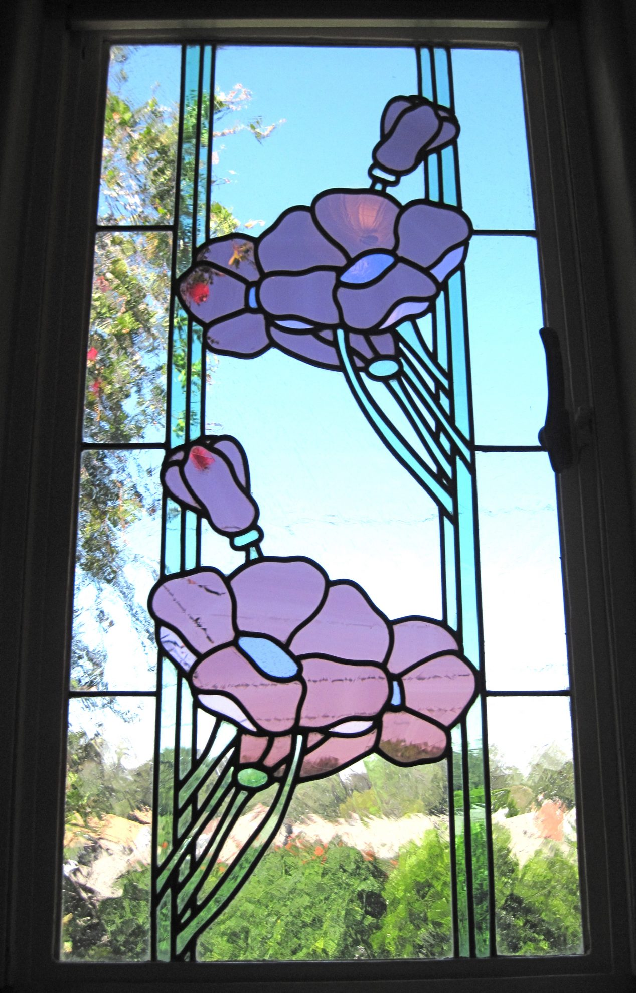 12.poppies..stained.glass