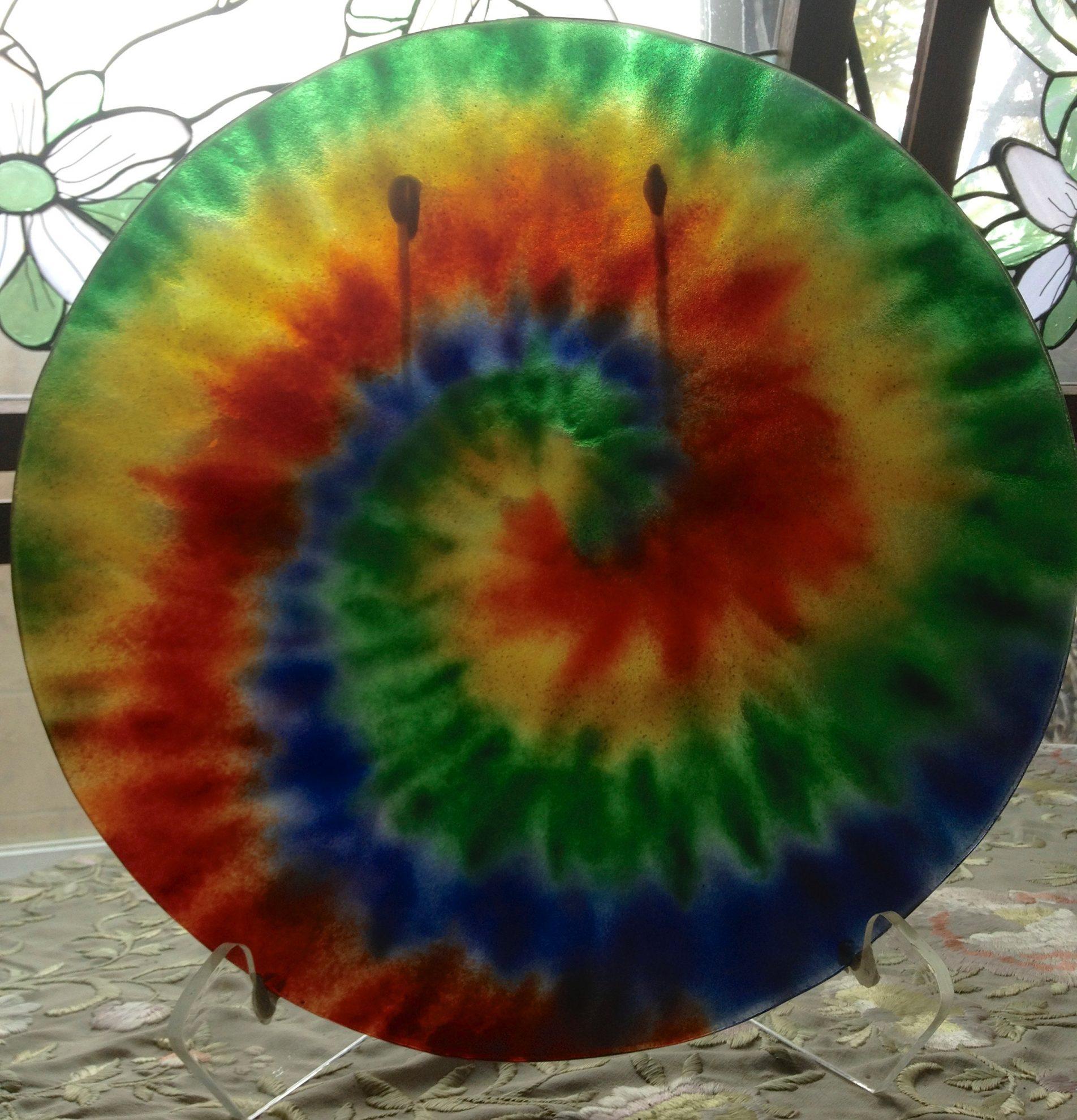 15.tie.dye.plate