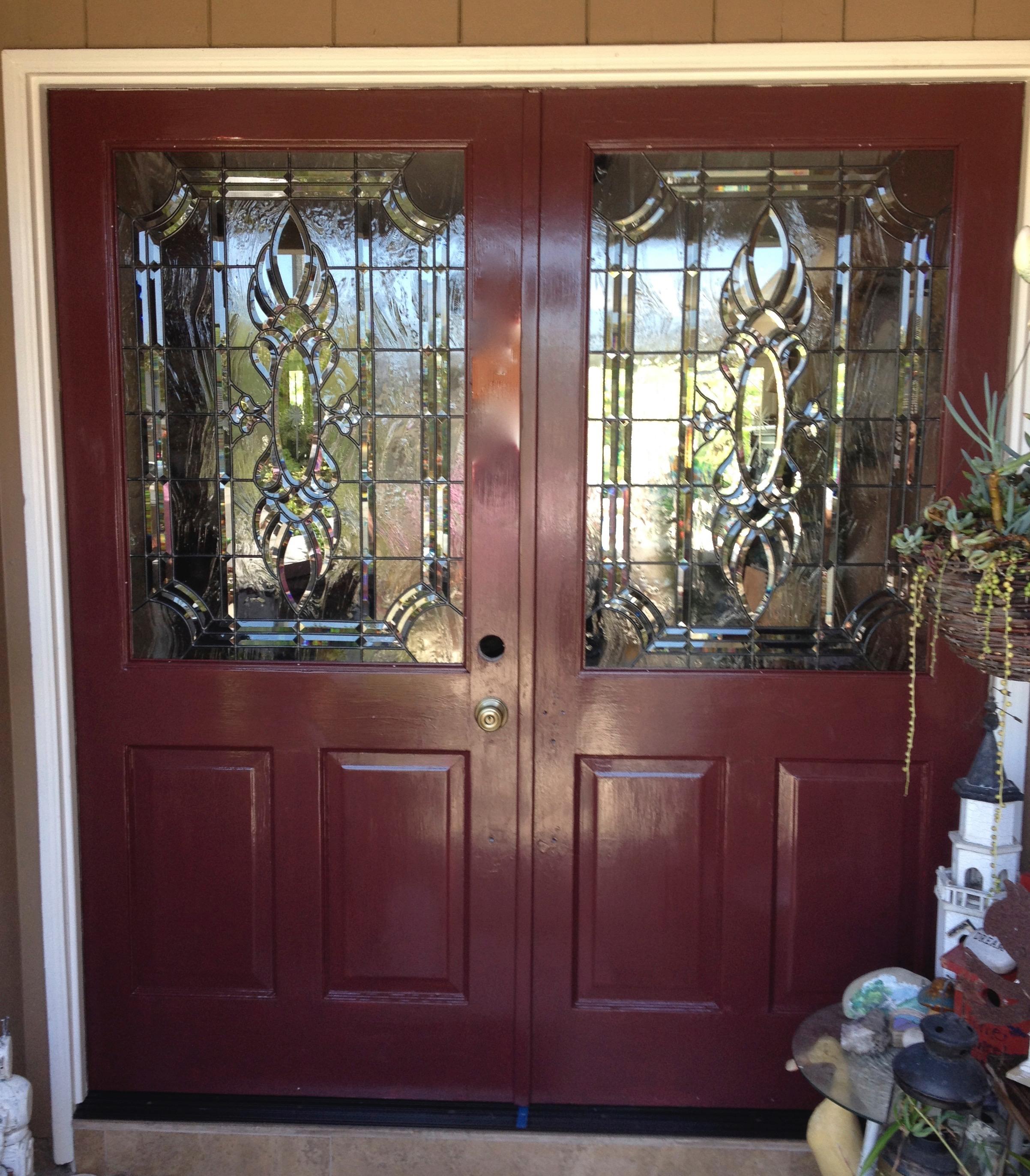 beveled glass 16.bevel.clusters.door