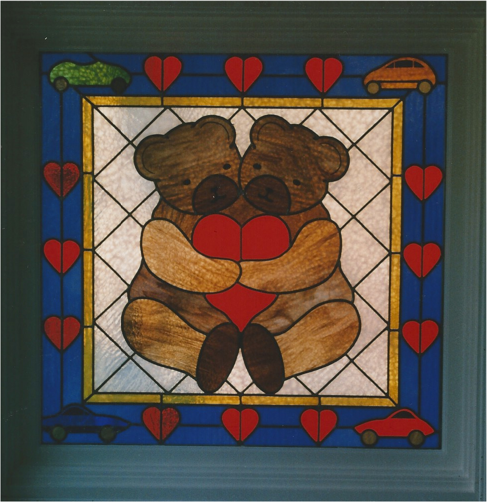 28.teddy.bears.stained.glass