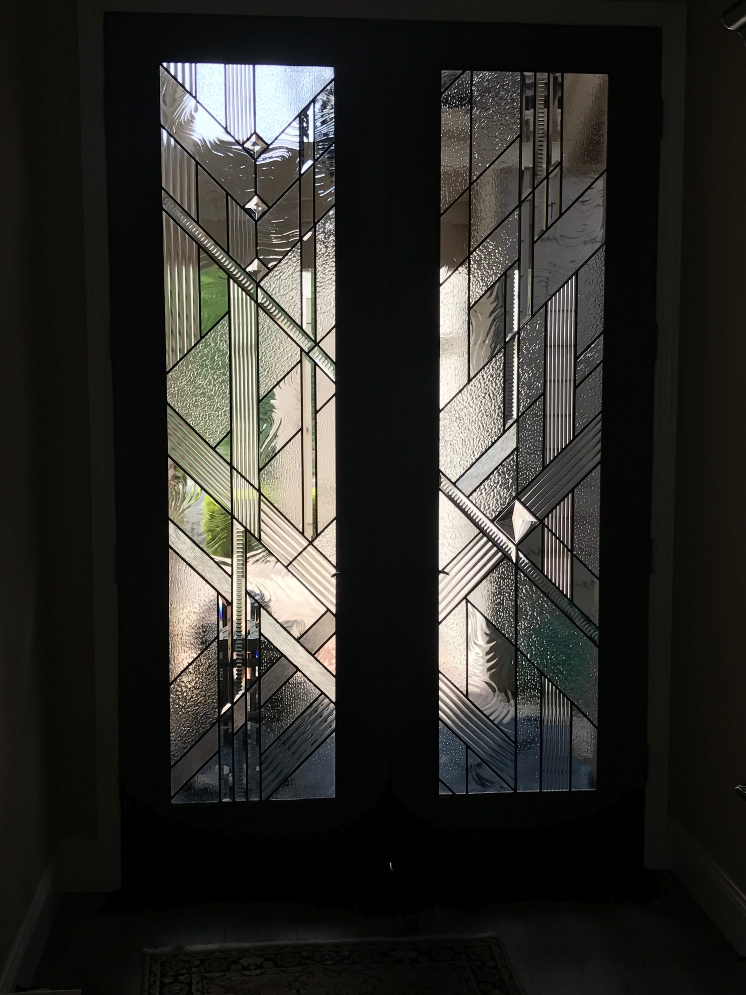 29.contemporary.leaded.glass