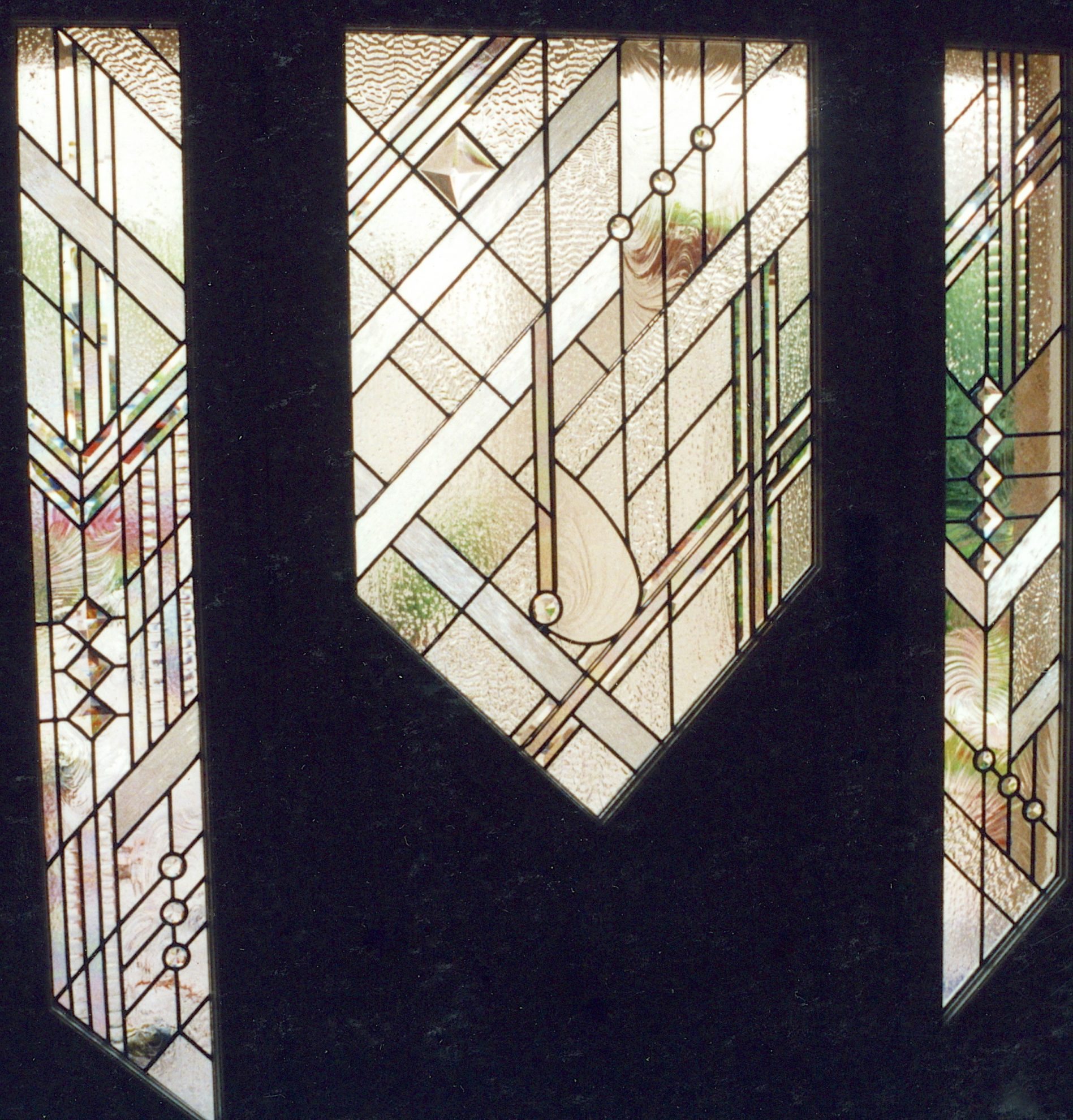 41.contemporary.leaded.glass