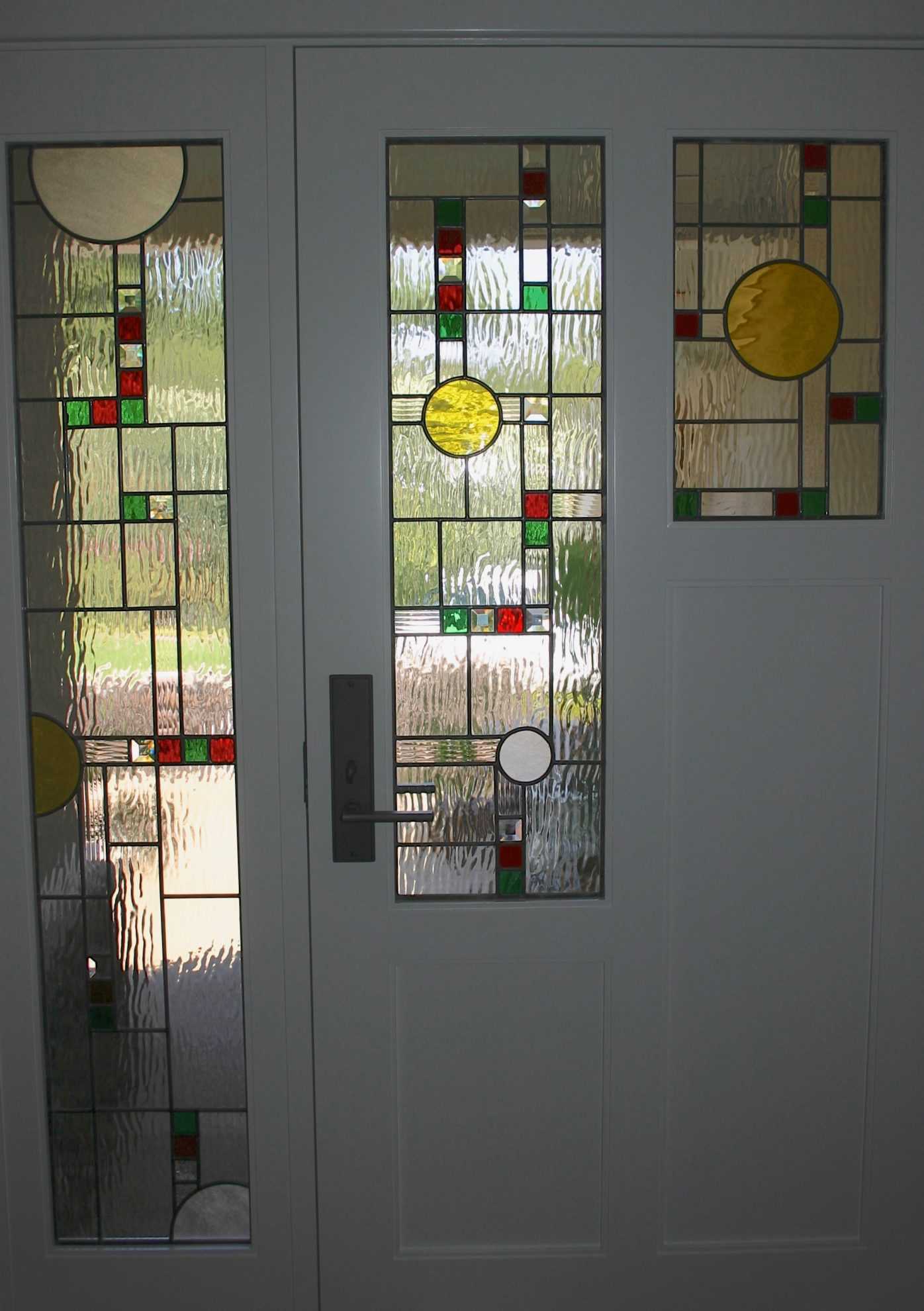 54.contemporary.leaded.glass