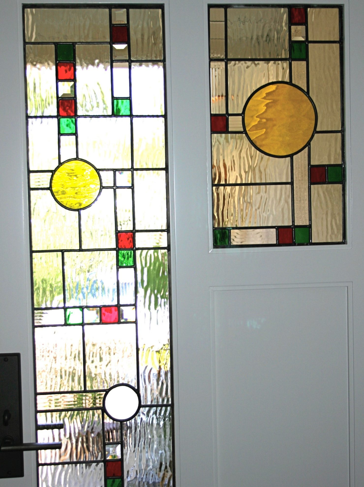 55.contemporary.leaded.glass