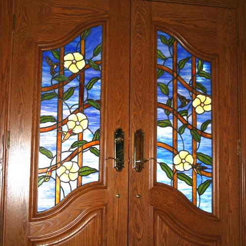 6.1.hummer.flower.door
