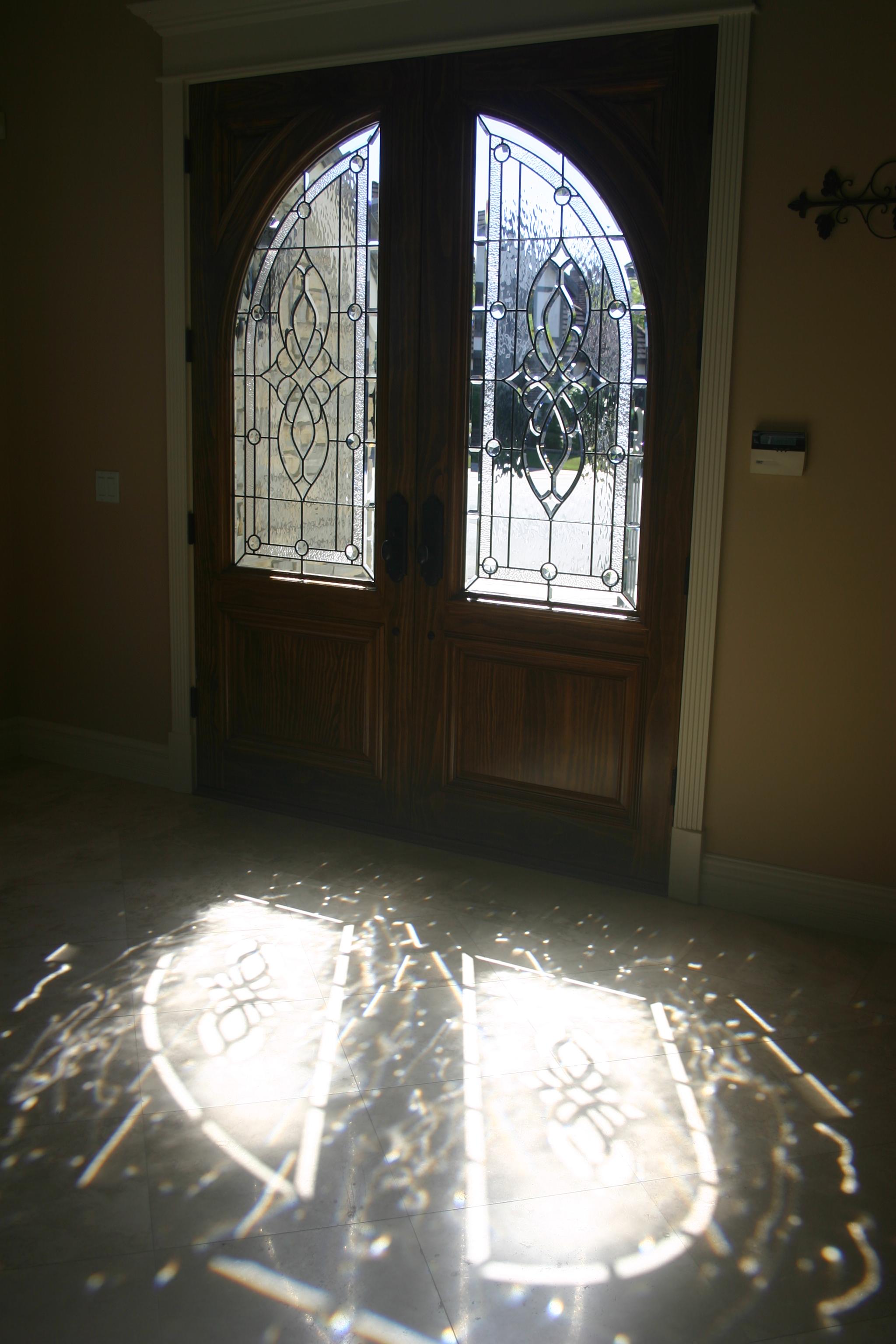 beveled glass  6.bevel.reflections