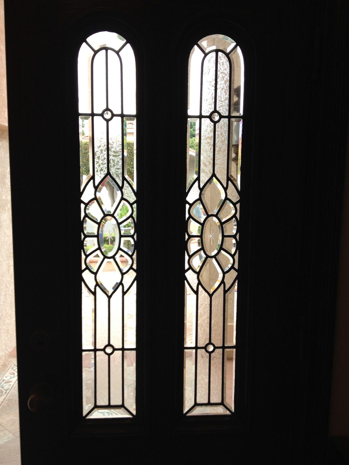 beveled glass 75.bevel.cluster.doors