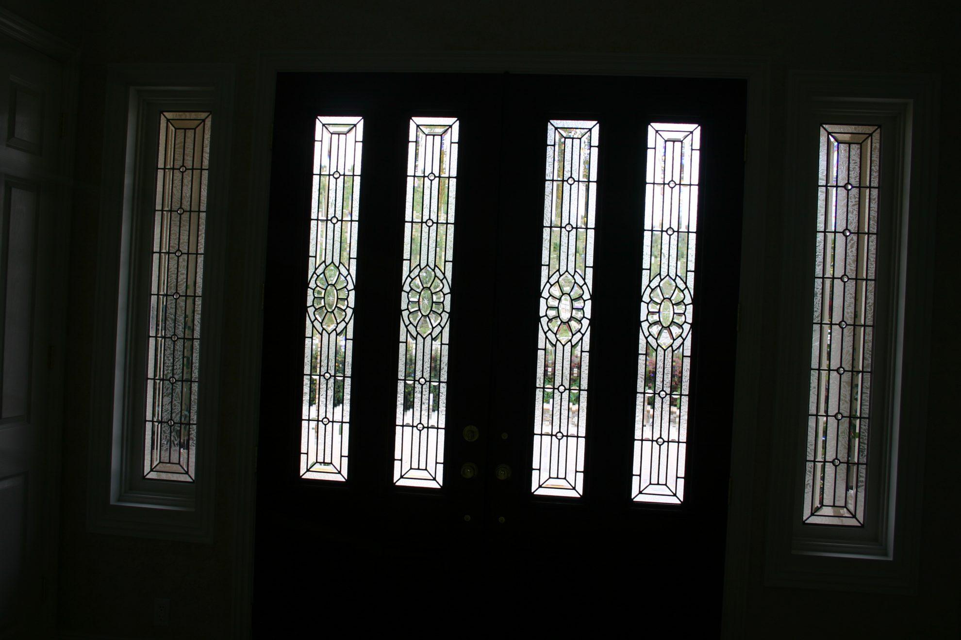 beveled glass 80.narrow.doorlites.sidelites